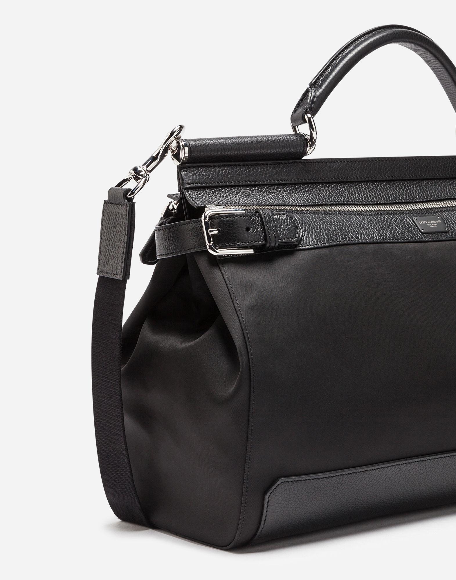 ... Lyst - Dolce Gabbana Nylon Sicily Work Bag in Black new product 06a2f  43c4c ... 24c9e2e293