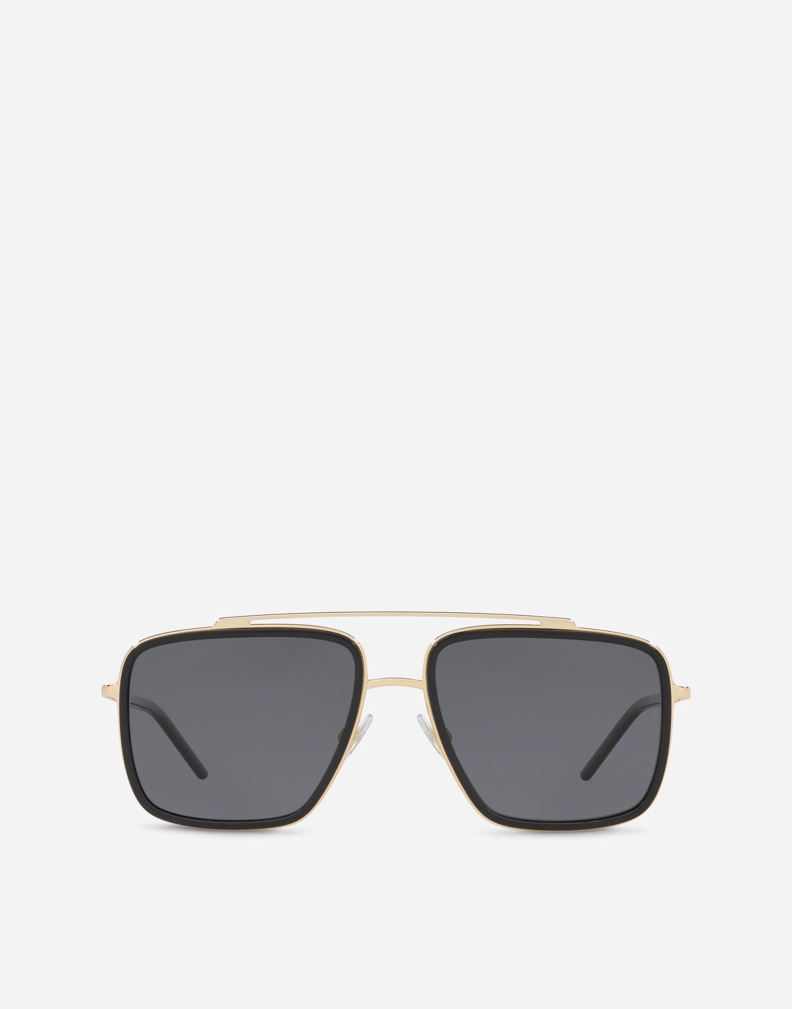eb55a343cd1 Lyst - Dolce   Gabbana Madison Sunglasses in Metallic for Men