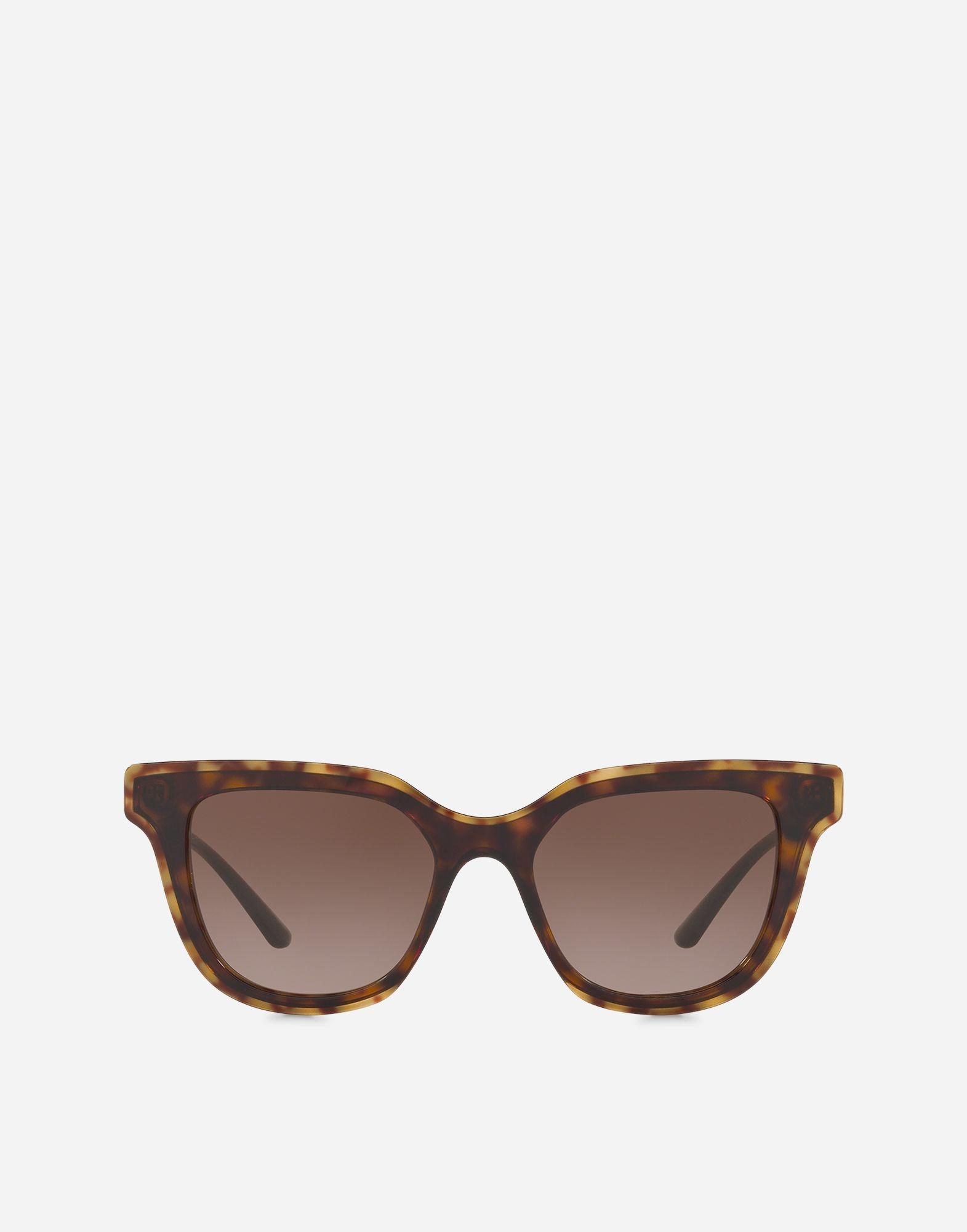 cd202707697c Lyst - Dolce   Gabbana Double Line Sunglasses in Brown