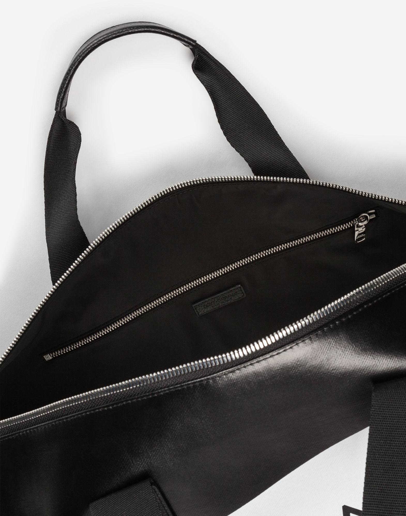 c0725160bd36 Dolce   Gabbana Coated Canvas Travel Bag in Black for Men - Lyst