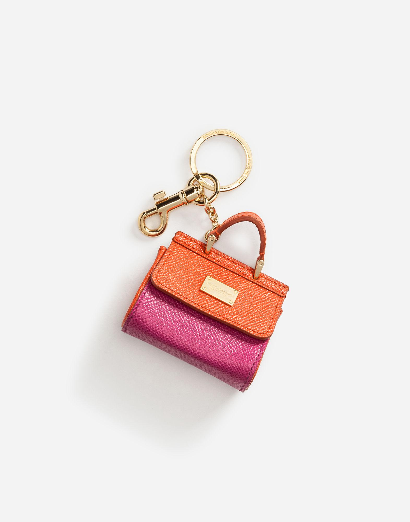 St Dauphine bag keyring - Pink & Purple Dolce & Gabbana UwURK