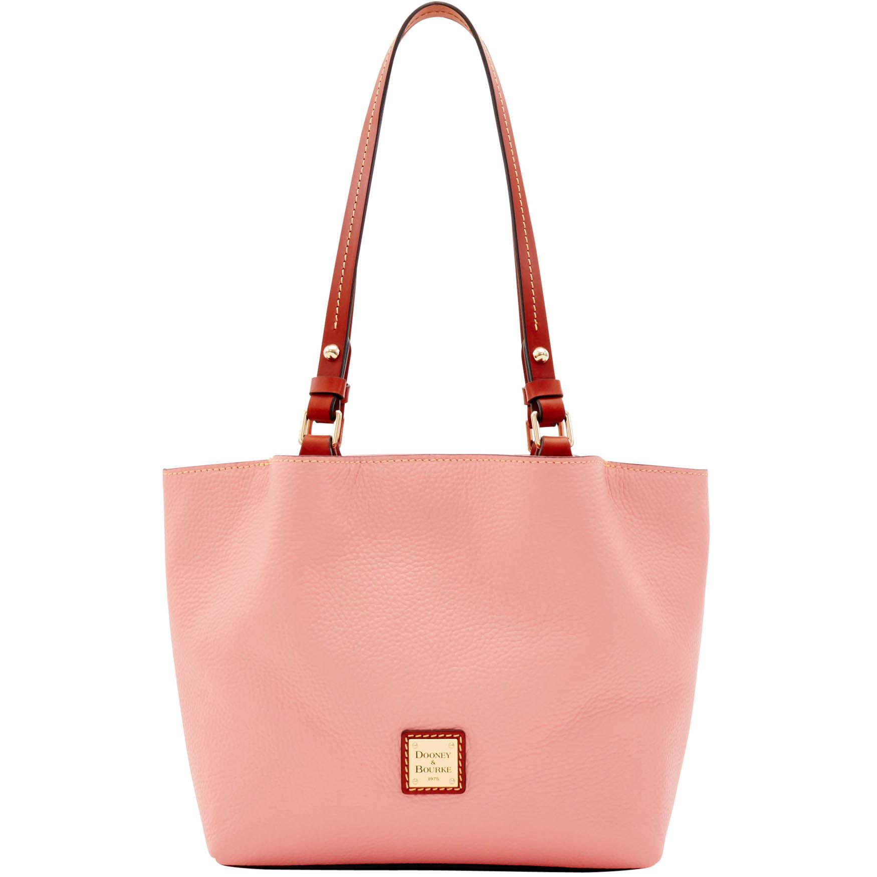 de83117f1a6c Lyst - Dooney   Bourke Pebble Grain Small Flynn in Pink