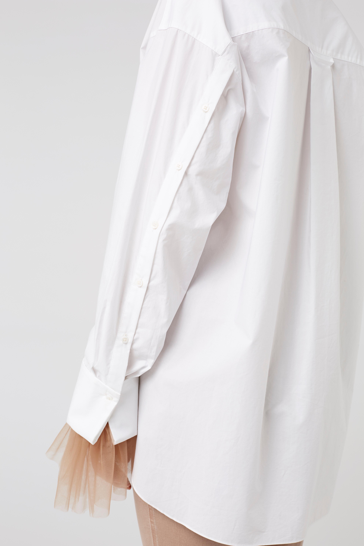 Best Prices Cheap Online SENSITIVE TRANSPARENCY t-shirt 1/1 2 Dorothee Schumacher Cheap Factory Outlet sFEWJ