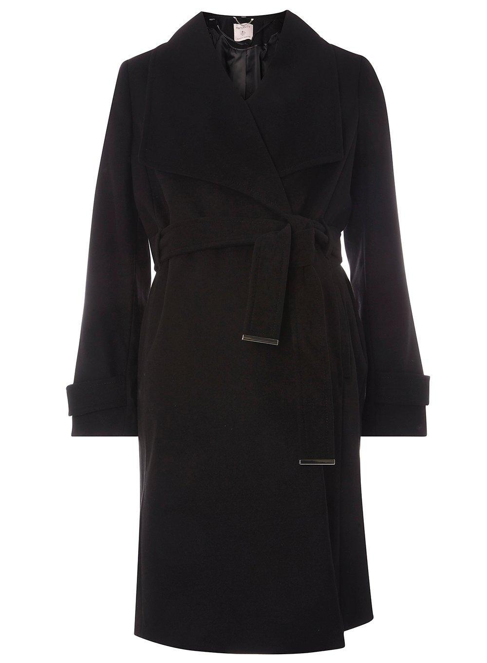 Countdown Package Online Dorothy Perkins Womens **Maternity Belted Wrap Coat- Sale Comfortable Buy Cheap 2018 Pay With Visa Online Vi94b
