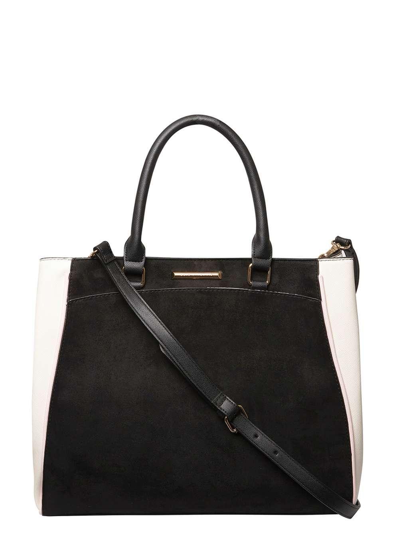 Dorothy Perkins Large Slip Pocket Tote Bag In Black Lyst