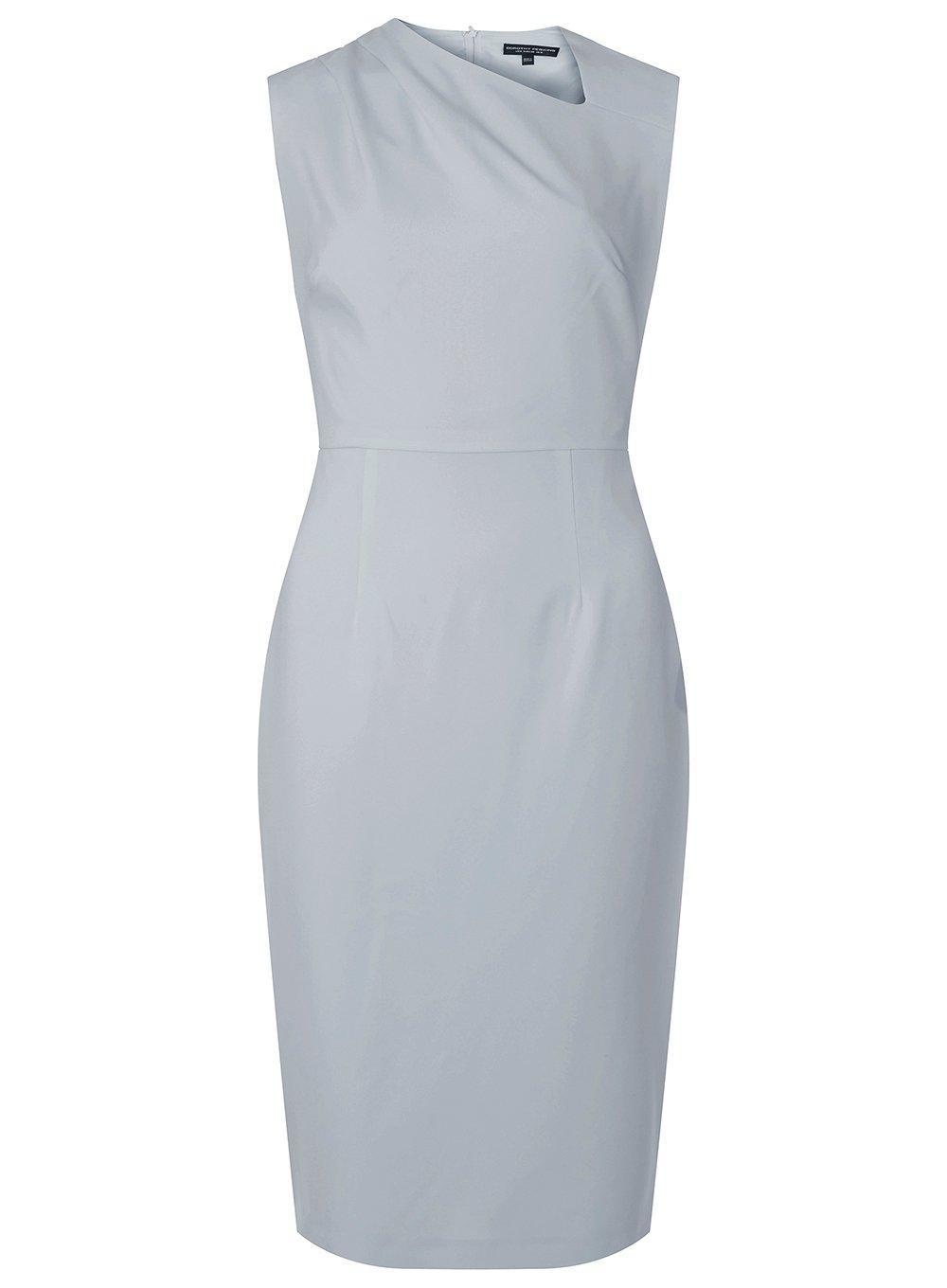 Dorothy Perkins Womens **Tall Blush Pleat Polly Pencil Dress- New Styles Collections For Sale fgtxLeHB4T
