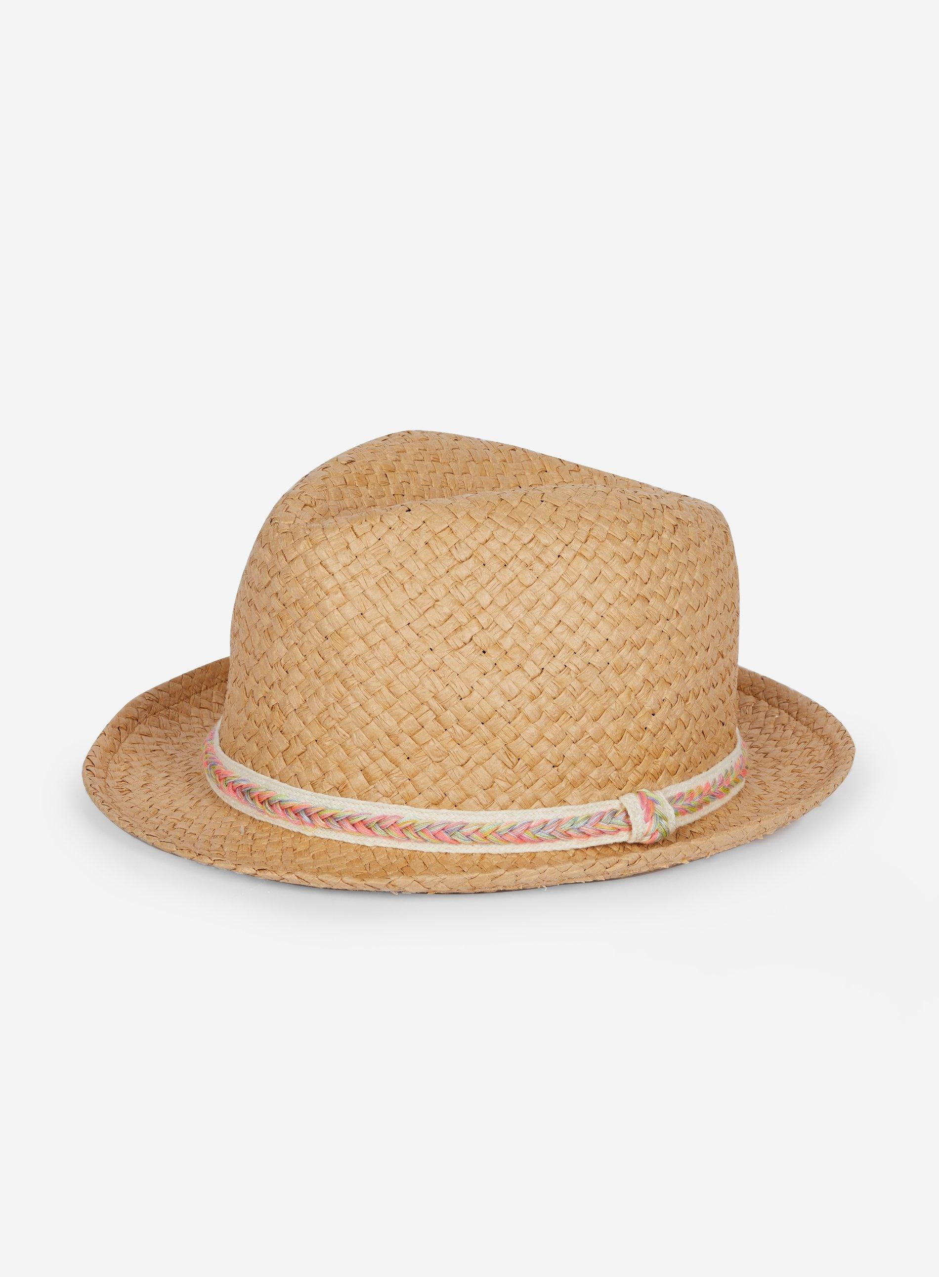 bdd325d46d4fc Dorothy Perkins Natural Trilby Hat in White - Lyst