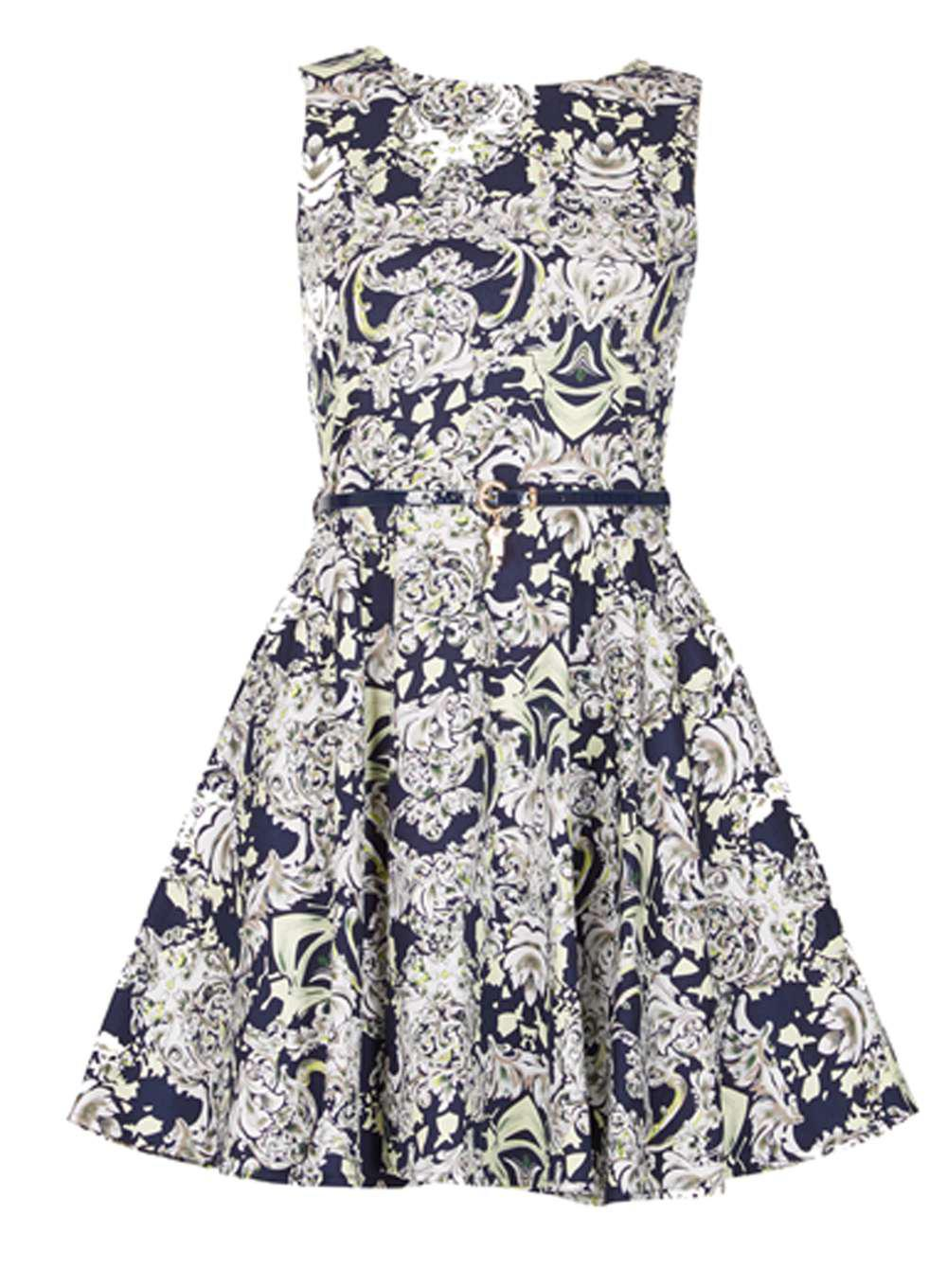 Clearance Very Cheap Cheap Online Store Dorothy Perkins Womens *Izabel London High Neck Skater Dress- Free Shipping View n5M4m9iZ