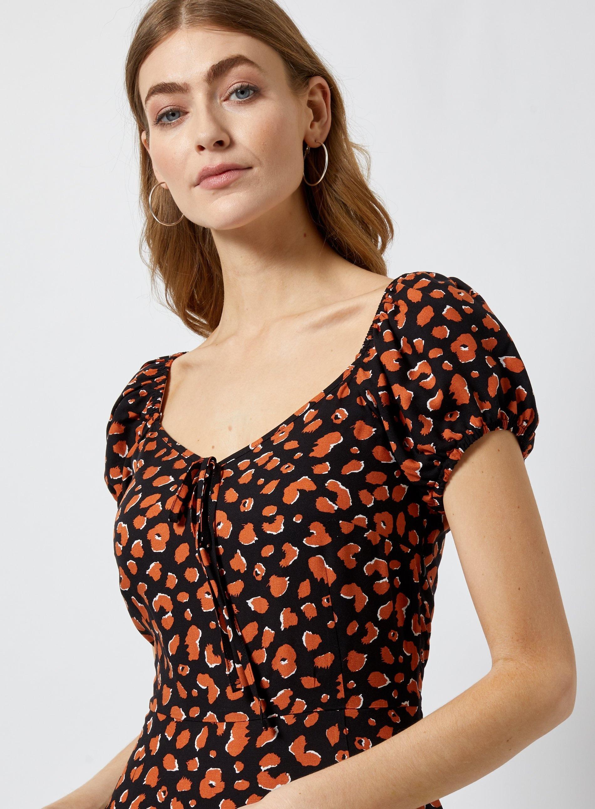 d6f5ac23d8facc Dorothy Perkins - Brown Tall Multi Colour Cheetah Print Dress - Lyst. View  fullscreen