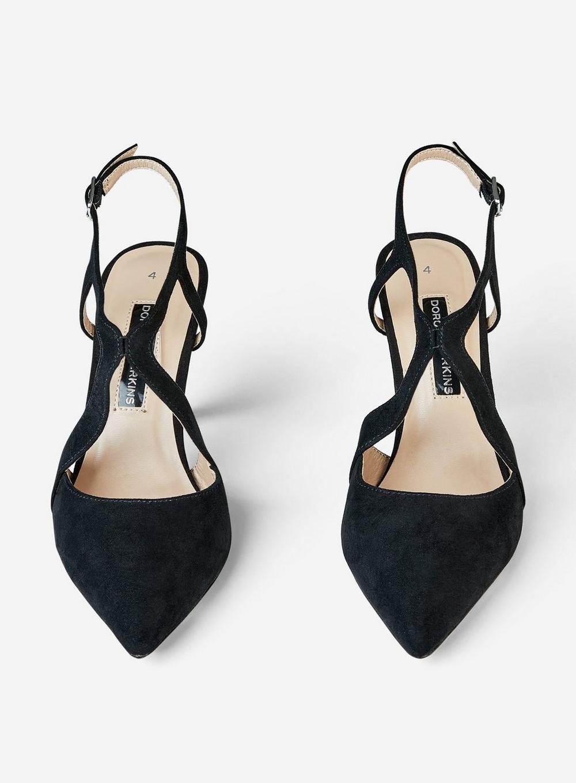 64ec316dda Dorothy Perkins - Black 'enigma' Cross Court Shoes - Lyst. View fullscreen