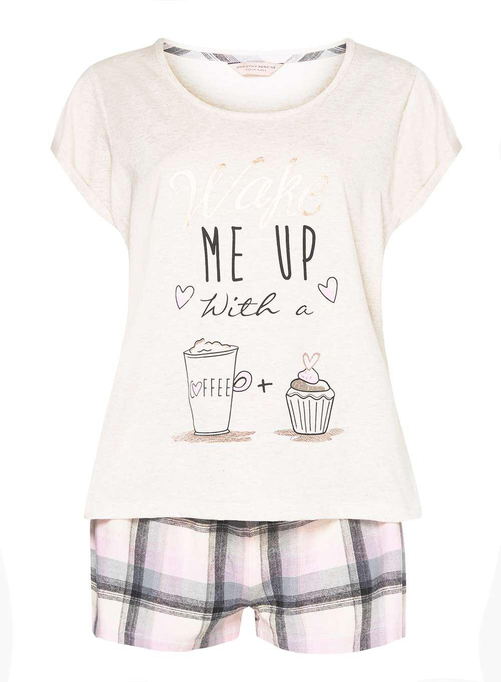 Womens Wake Me up with Coffee Pyjama Sets Dorothy Perkins Exclusive Online Sale Great Deals Cheapest Price Sale Online Pick A Best Cheapest aZeAlRwmdT