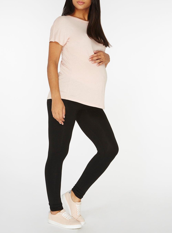 ab67508806b73 Dorothy Perkins - Maternity Black Under Bump Leggings - Lyst. View  fullscreen