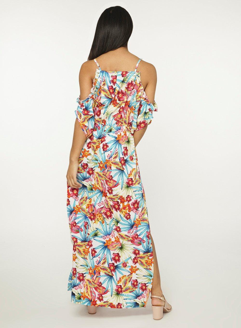 aa456553e9 Gallery. Previously sold at: Dorothy Perkins · Women's Ivory Dresses  Women's Tropical ...