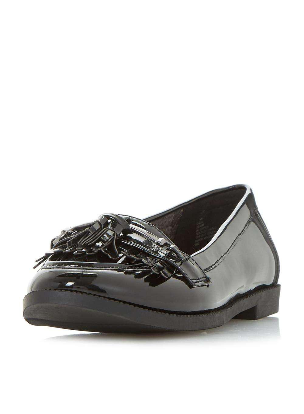 8cac0c12186 Lyst - Dorothy Perkins Head Over Heels By Dune Black  gigli  Loafers ...