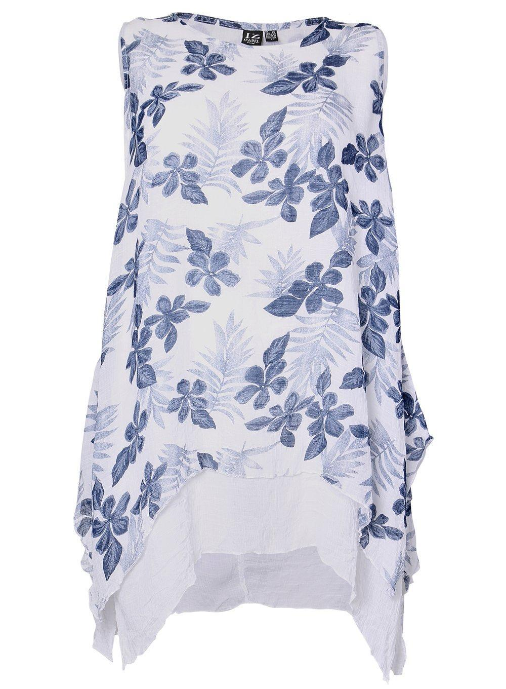 4be9bf4c64b Dorothy Perkins. Women s Blue Izabel London Curve Navy Layered Floral Print  Skater Dress