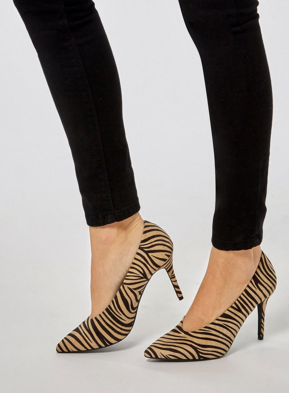Gatsby Zebra Dorothy Court Lyst Microfibre Perkins Shoes 6Bfw1q0