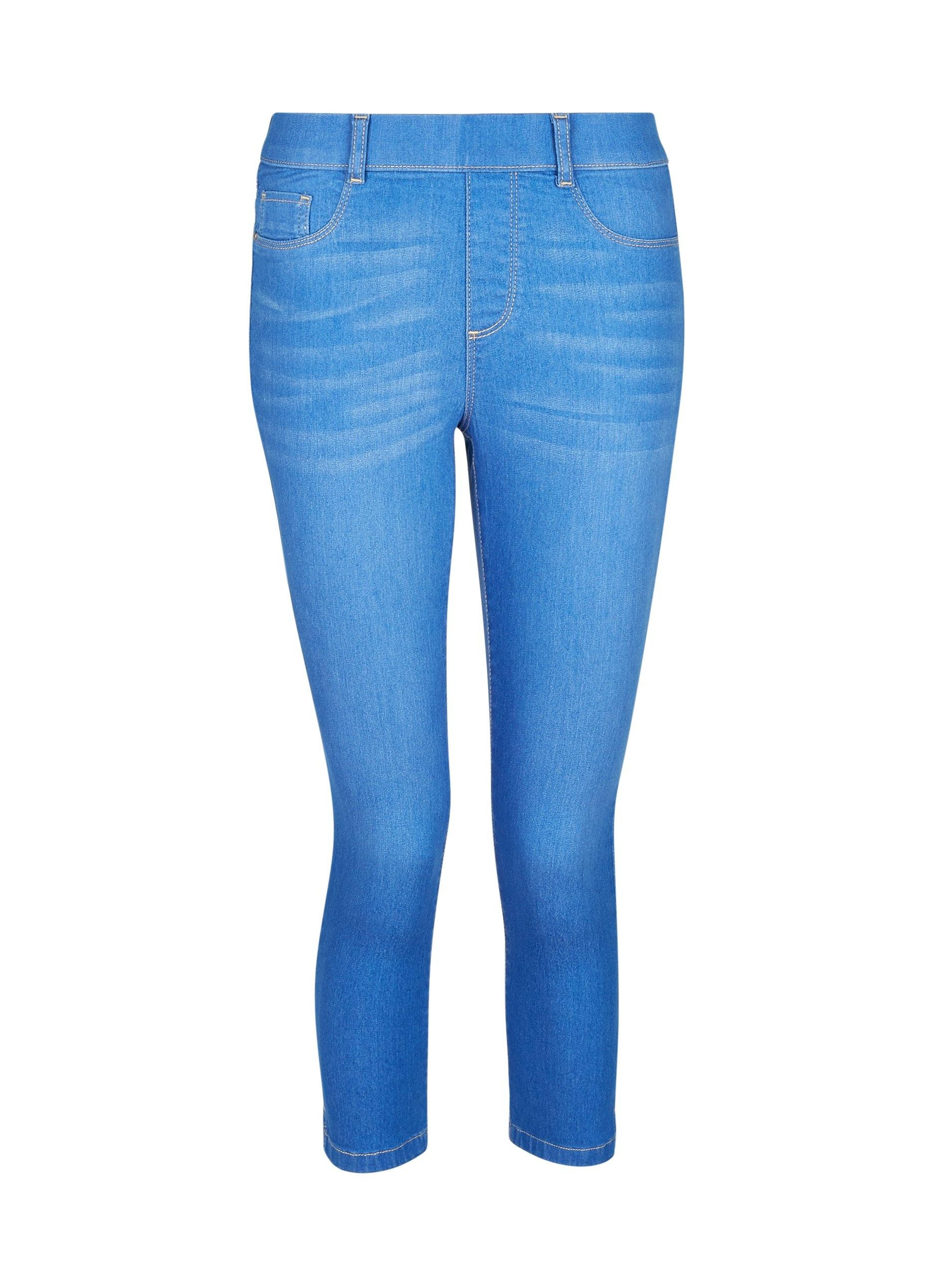 6045cc355bc83 Dorothy Perkins Pale Blue 'eden' Super Soft Cropped Jeggings in Blue ...
