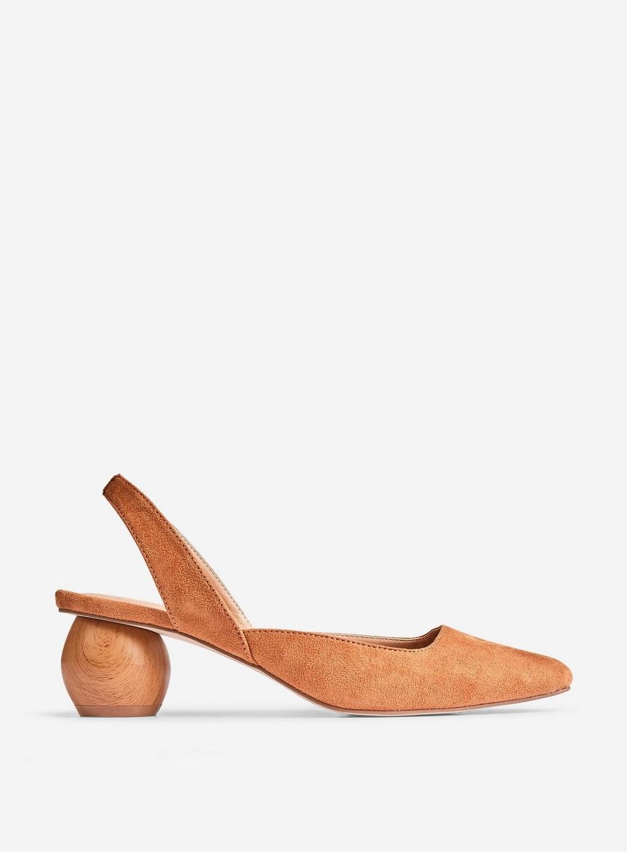 3cfa2b40f9 Lyst - Dorothy Perkins Tan 'elfie' Court Shoes in Brown