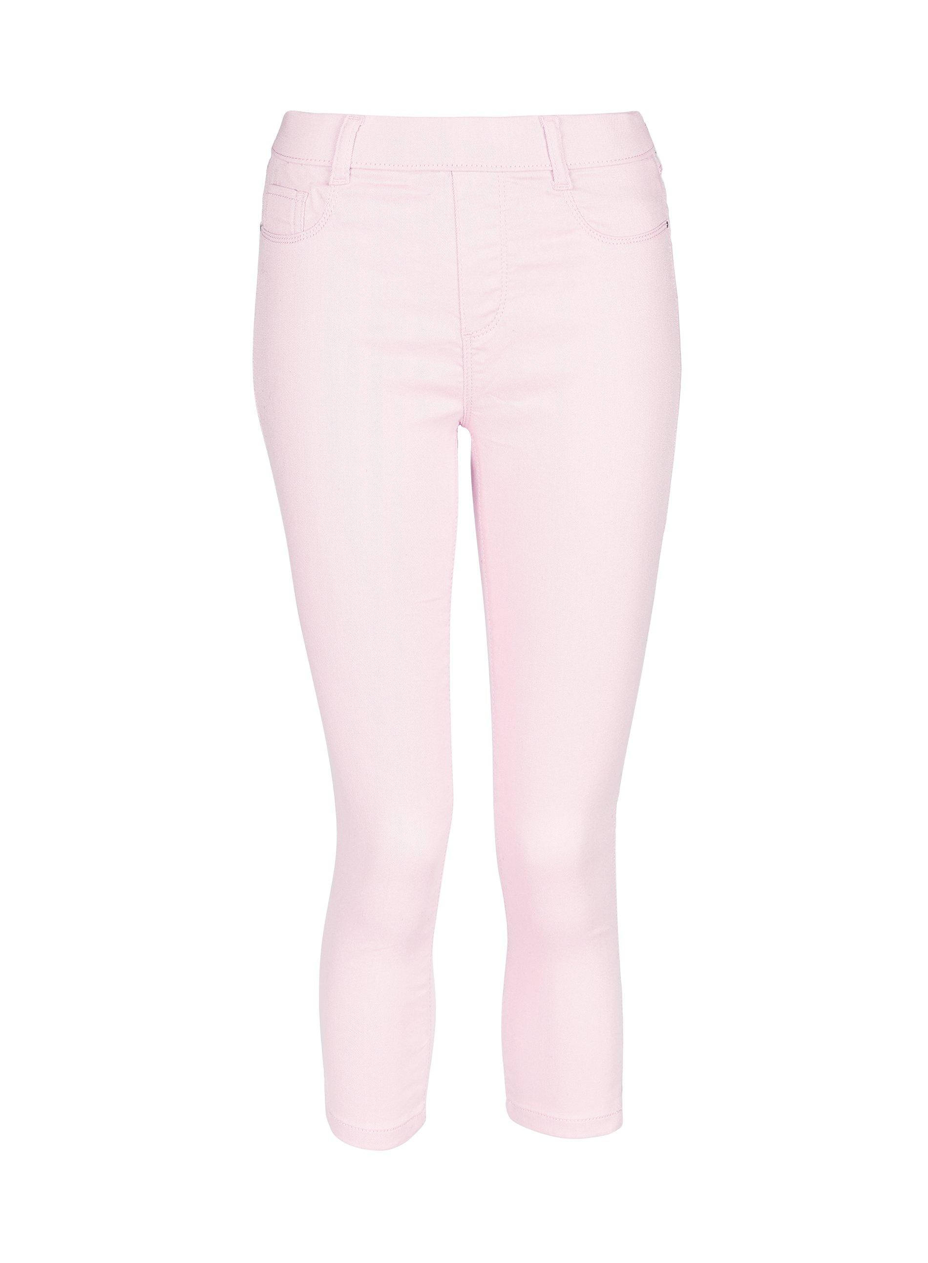 a71c1a9e4e870 Dorothy Perkins Pale Pink 'eden' Super Soft Cropped Jeggings in Pink ...