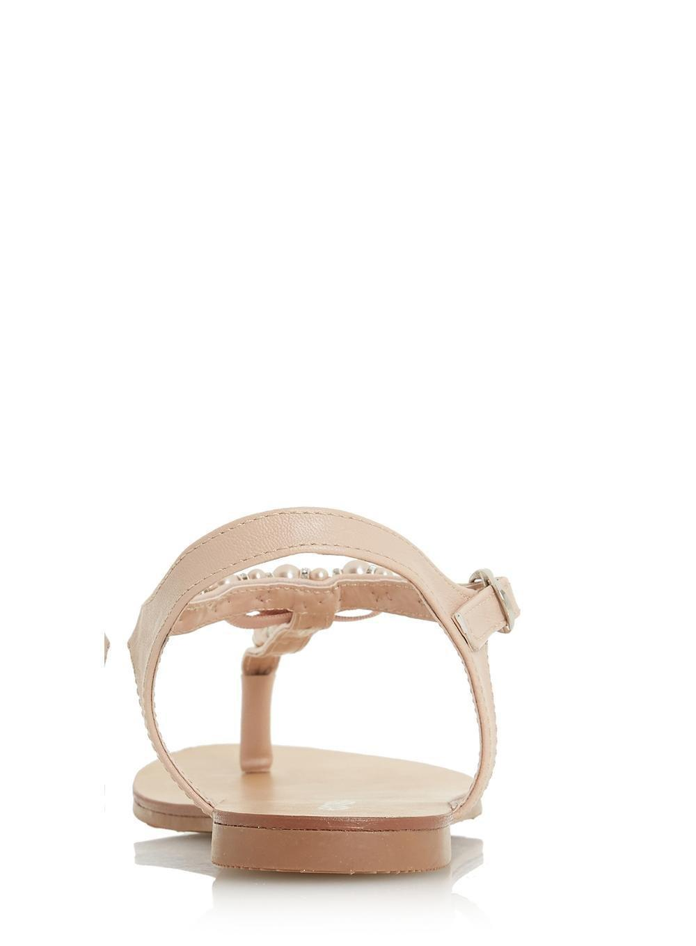 a5c3753db Dorothy Perkins Head Over Heels By Dune Nude 'lucci' Sandals in ...