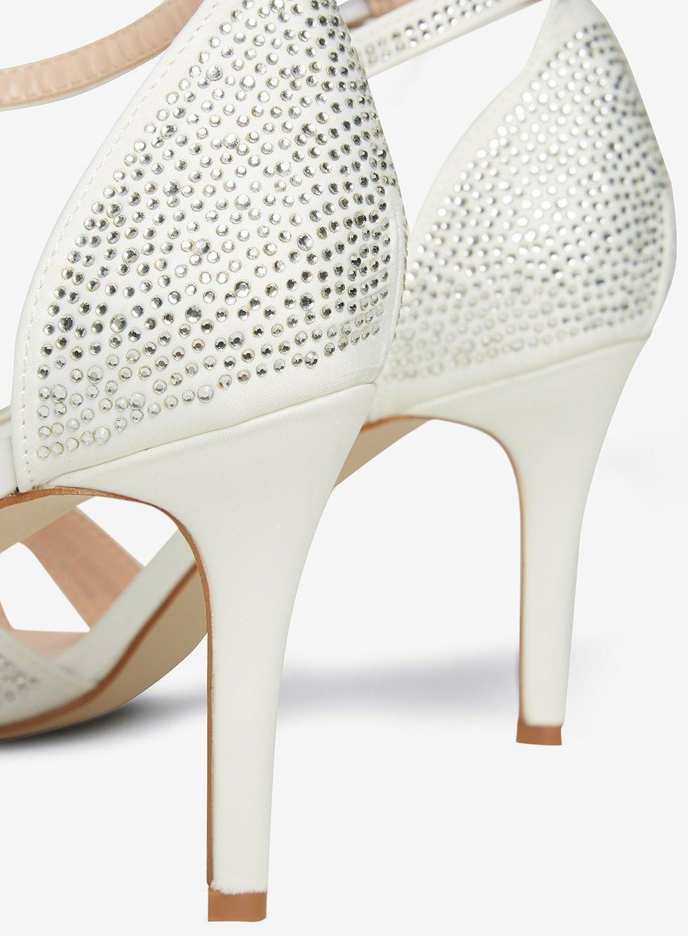 40493ee0d2f Lyst - Dorothy Perkins Wide Fit Ivory  sofia  Occasion Sandals in White