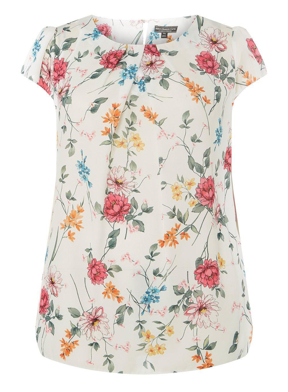 Cheap Official Hot Sale Cheap Price Dorothy Perkins Womens **Billie & Blossom Curve Butterfly Shell Top- Sneakernews Cheap Online RqprZsdNny