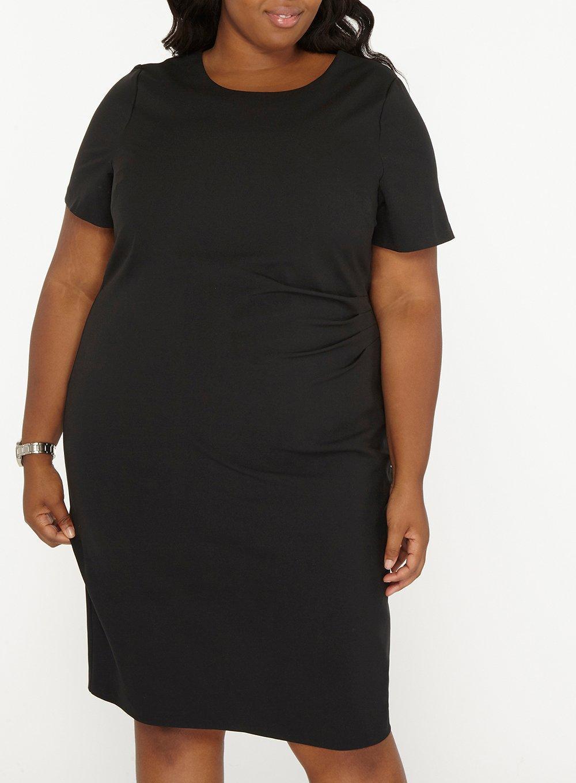 15325a885e5d1 Dorothy Perkins - Dp Curve Black Pencil Dress - Lyst. View fullscreen