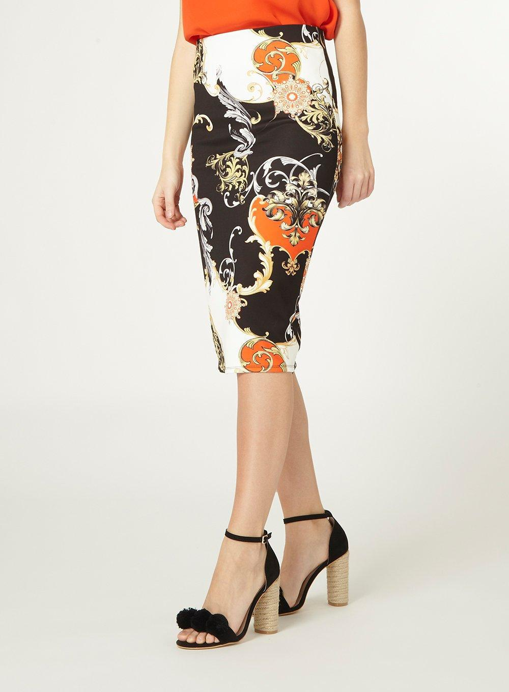 33ffd3c789 Gallery. Previously sold at: Dorothy Perkins · Women's Printed Skirts  Women's Pencil ...
