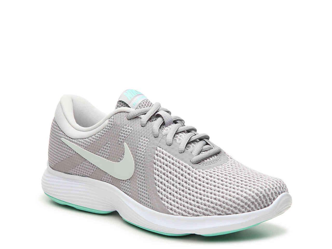 7351f7310e6 Lyst - Nike Revolution 4 Lightweight Running Shoe in White