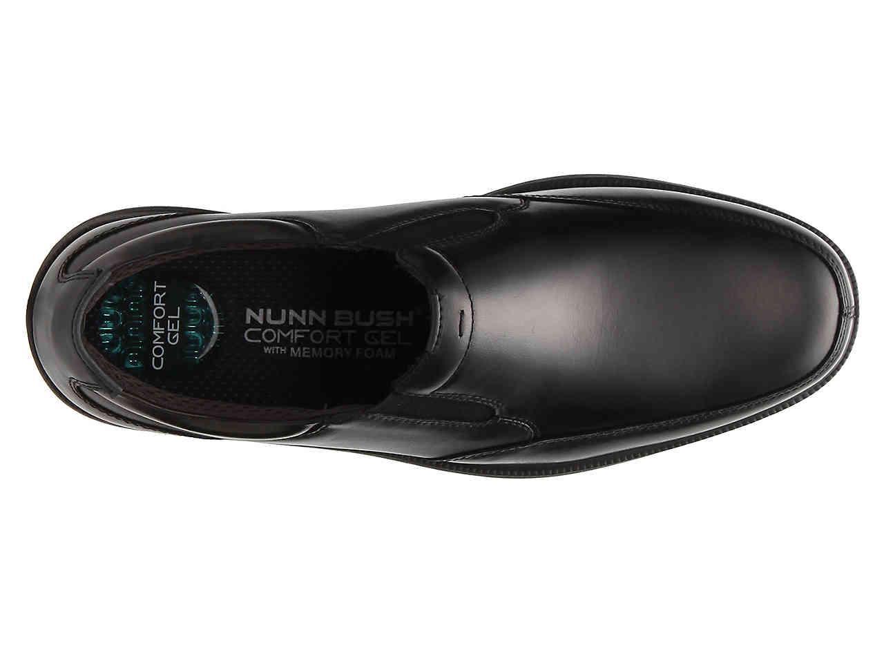 71991805b2 Nunn Bush - Black Myles St. Slip-on for Men - Lyst. View fullscreen
