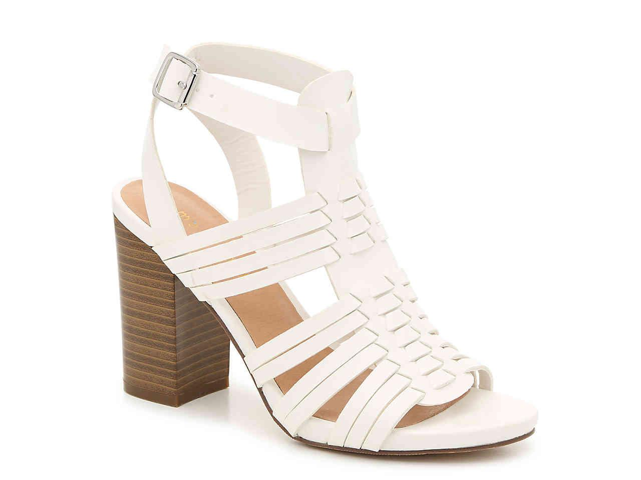 41c5570fa8d Lyst - Madden Girl Reine Sandal in White