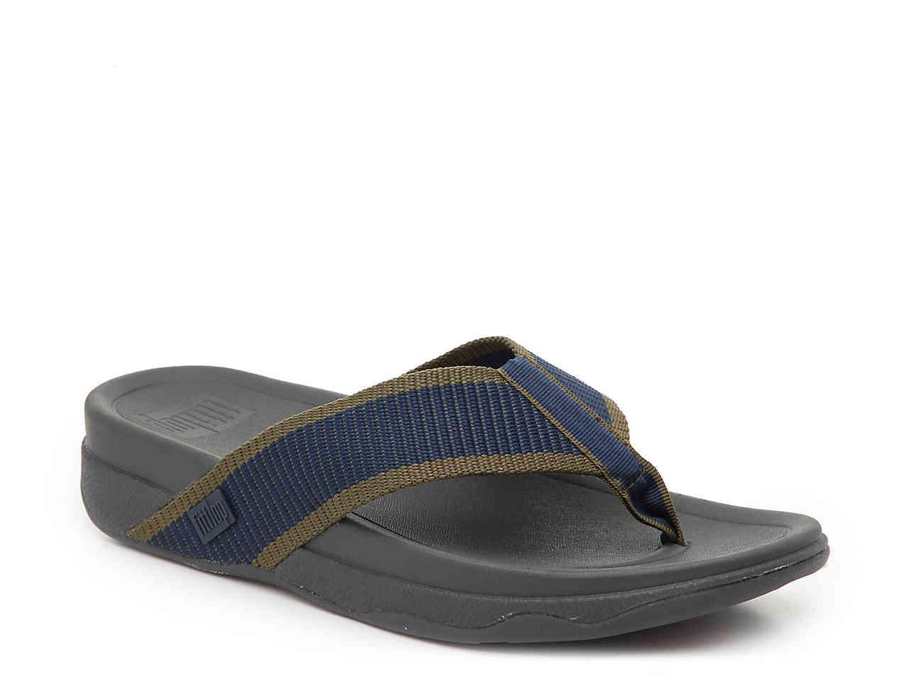 1b4a1ed362b Lyst - Fitflop Surfer Flip Flop in Blue for Men