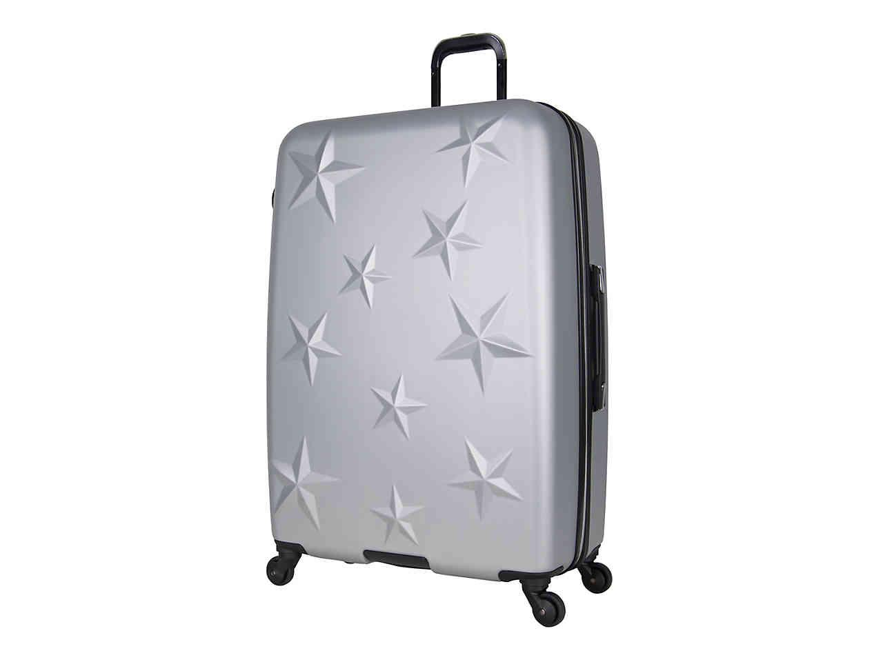 d57fa4ca4 Aimee Kestenberg Star Molded 28-inch Checked Hard Shell Luggage in ...