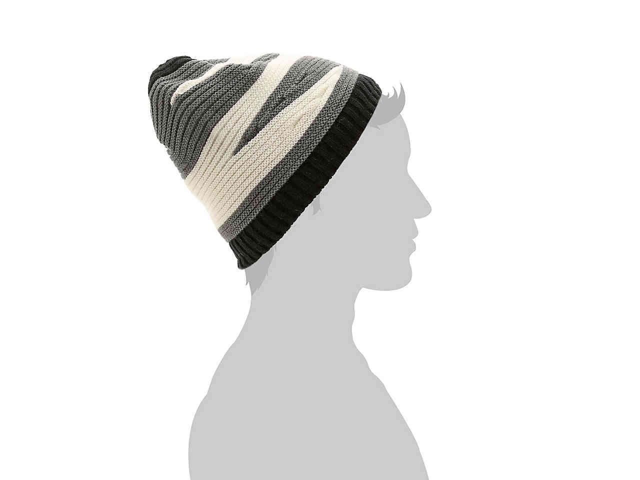 eb53b5d8644 Lyst - Chaos Nash Stripe Beanie in Gray for Men