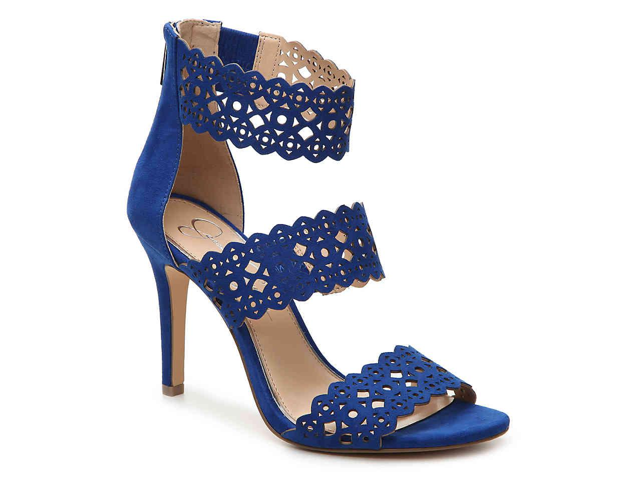 021be5d57c Lyst - Jessica Simpson Jaymay Sandal in Blue