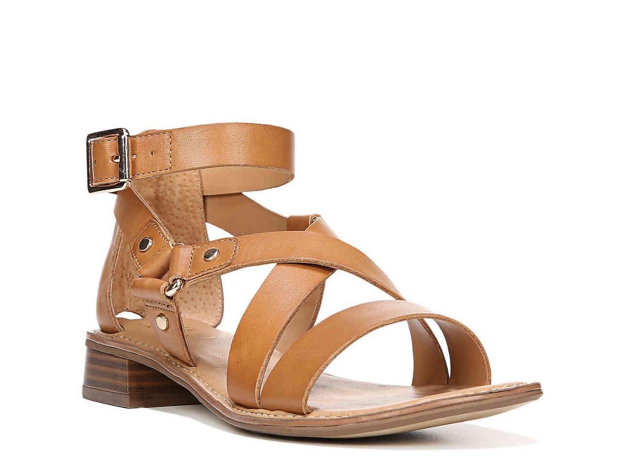 9cbcc37a8f4f Lyst - Franco Sarto April Gladiator Sandal in Brown