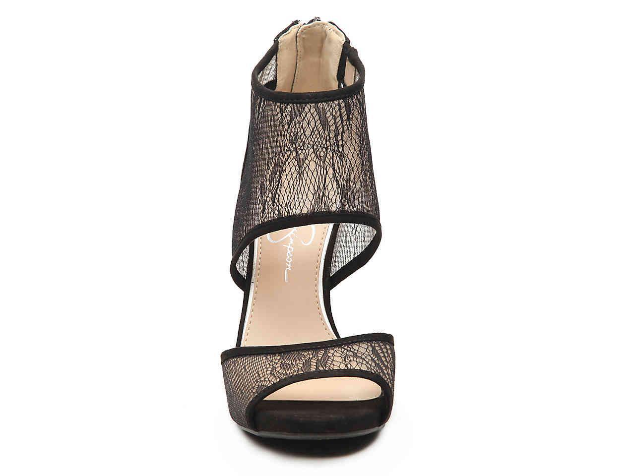 0258998699d Jessica Simpson - Black Raveero Platform Sandal - Lyst. View fullscreen
