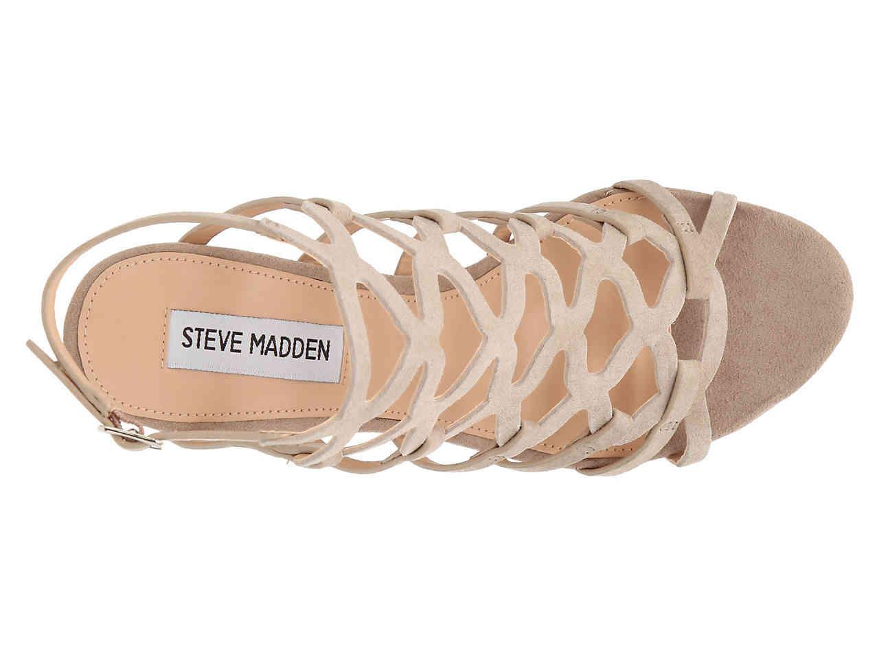 60a0a19d0cc Steve Madden - Multicolor Christina Wedge Sandal - Lyst. View fullscreen
