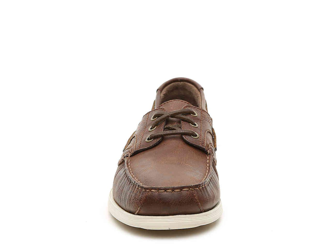 ee0b2e8ce74 Lyst Cole Haan Harpswell Boat Shoe In Brown For Men