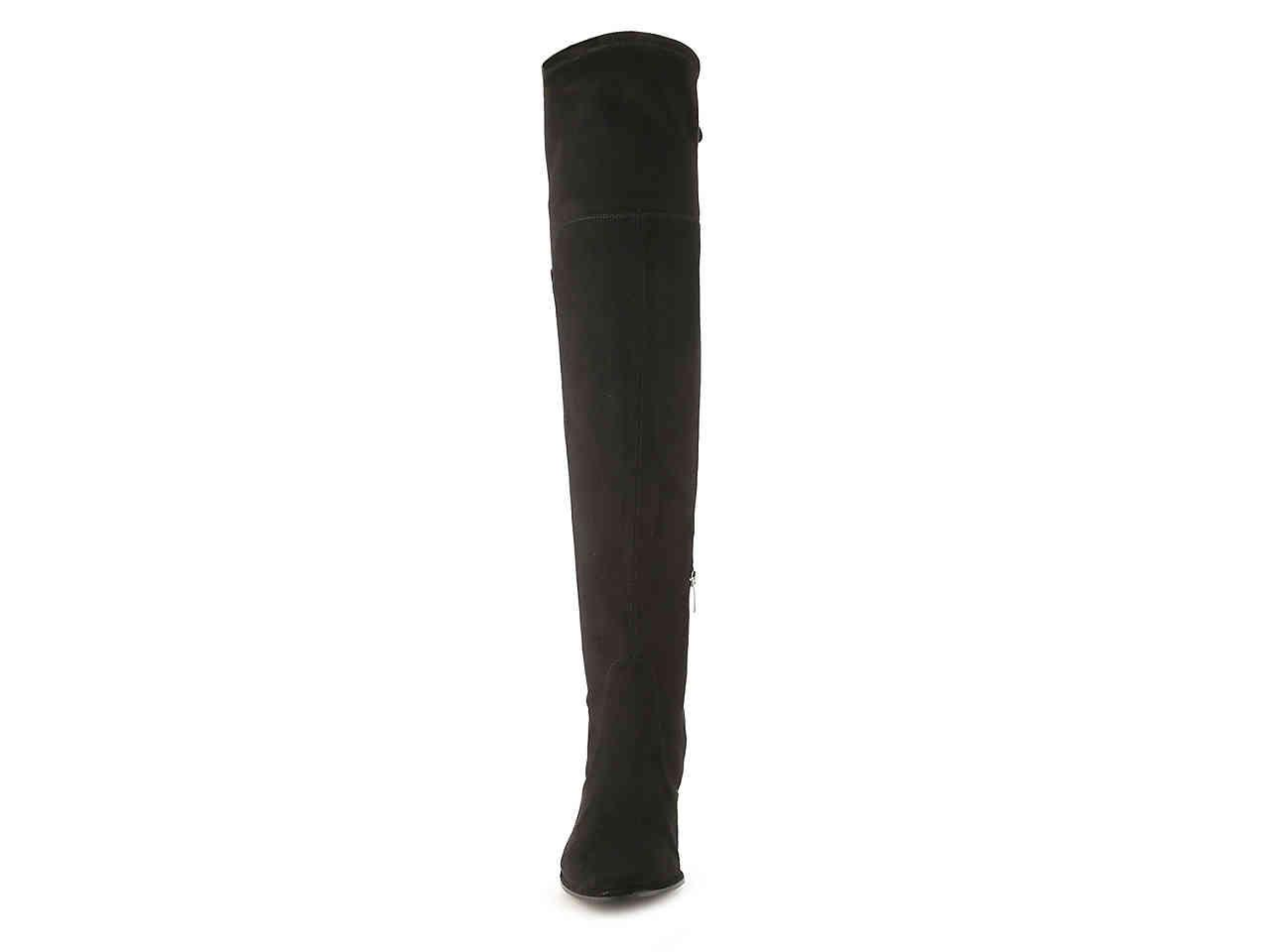 0d29d6532a8 Marc Fisher - Black Locket Over The Knee Boot - Lyst. View fullscreen