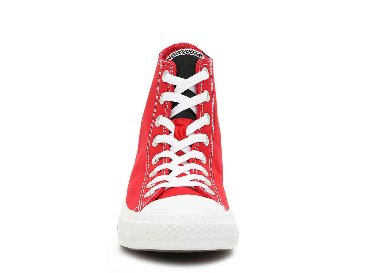 Converse - Red Chuck Taylor All Star 2 Tone High-top Sneaker for Men -.  View fullscreen b2ea08b82