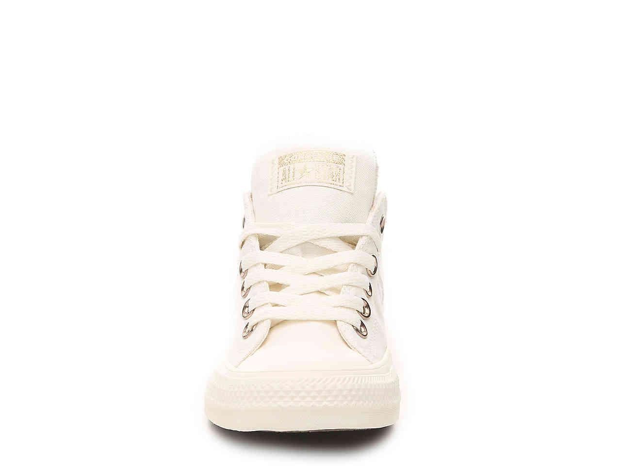 47b306a0942 Converse - White Chuck Taylor All Star Madison Sneaker - Lyst. View  fullscreen
