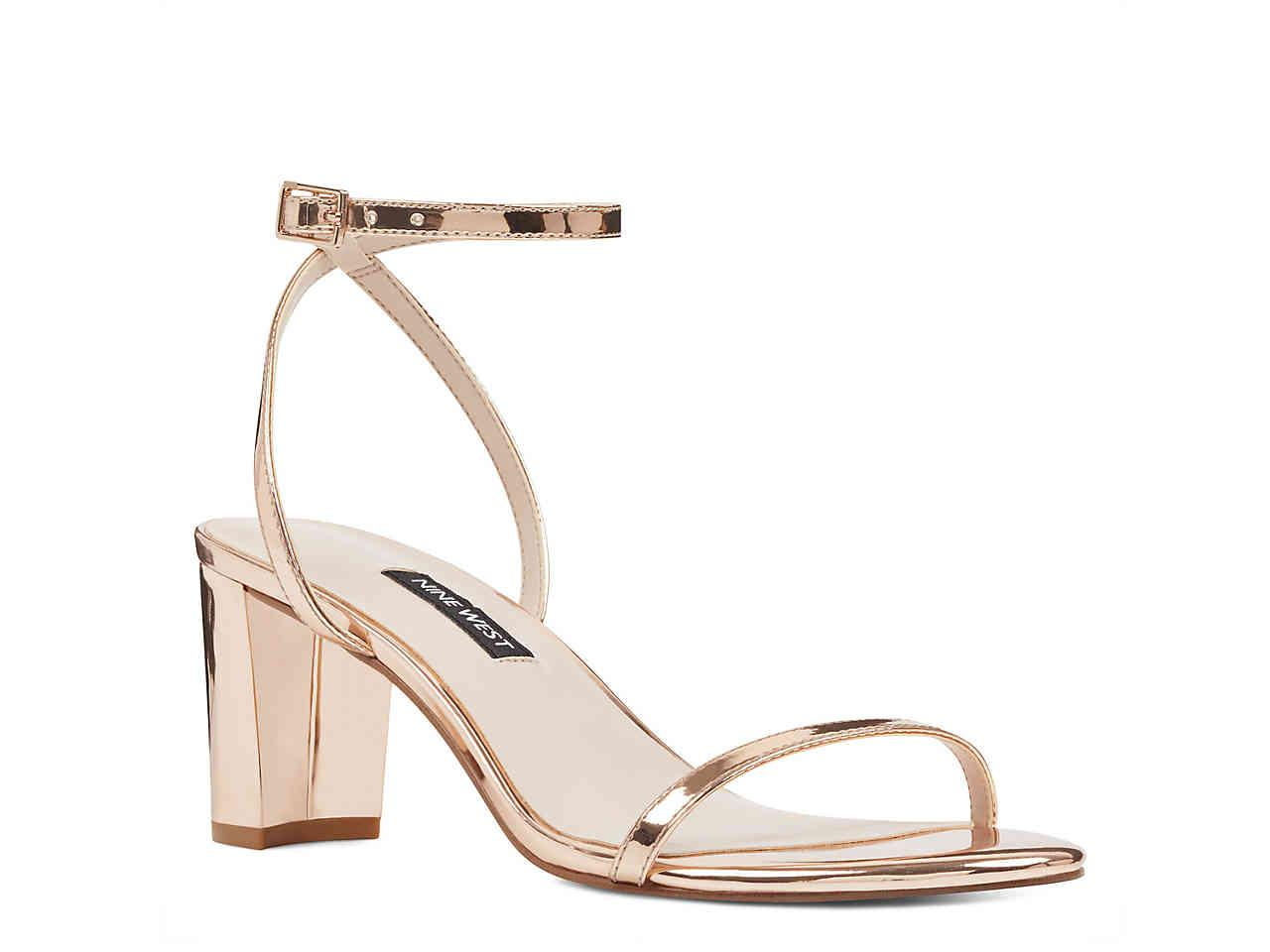 61a21ff9b5a Lyst - Nine West Provein Sandal in Metallic