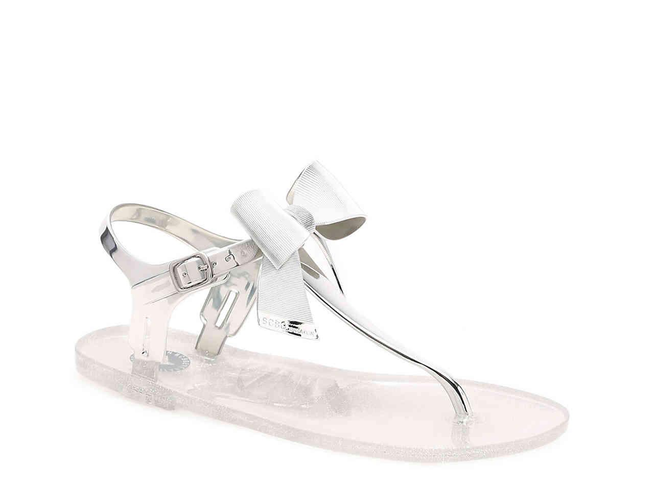 902341383db6 Lyst - BCBGeneration Beena Jelly Sandal in Metallic