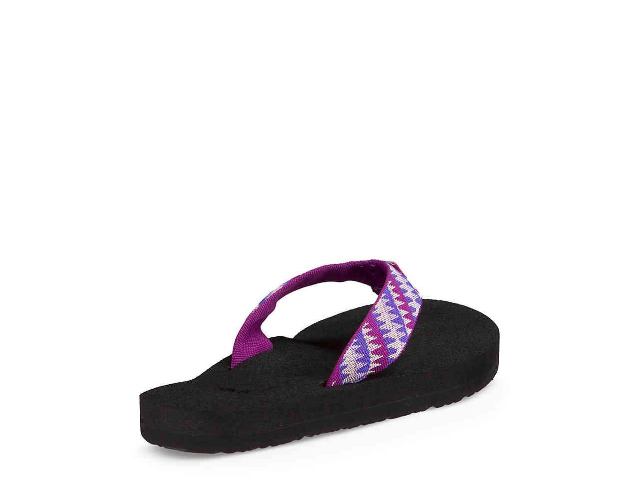 a4615be8acfb Lyst - Teva Mush Ii Patterned Flip Flop in Purple