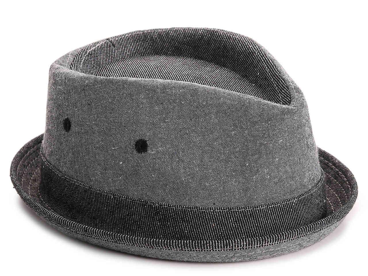 6e5a755f00ff1 Lyst - Original Penguin Chambray Stripe Fedora in Gray for Men