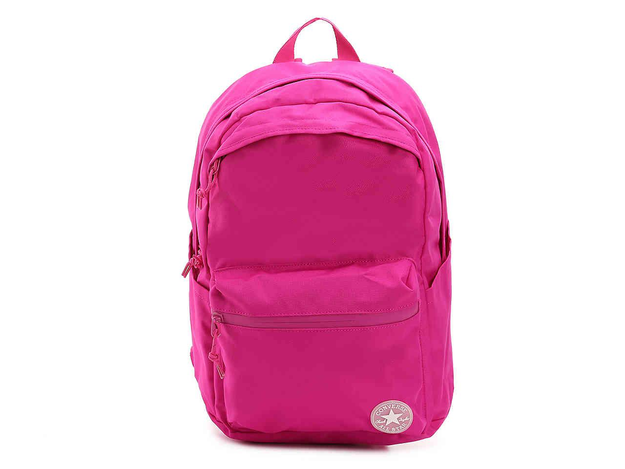 Lyst - Converse Chuck Plus Backpack in Pink 1800f43820878