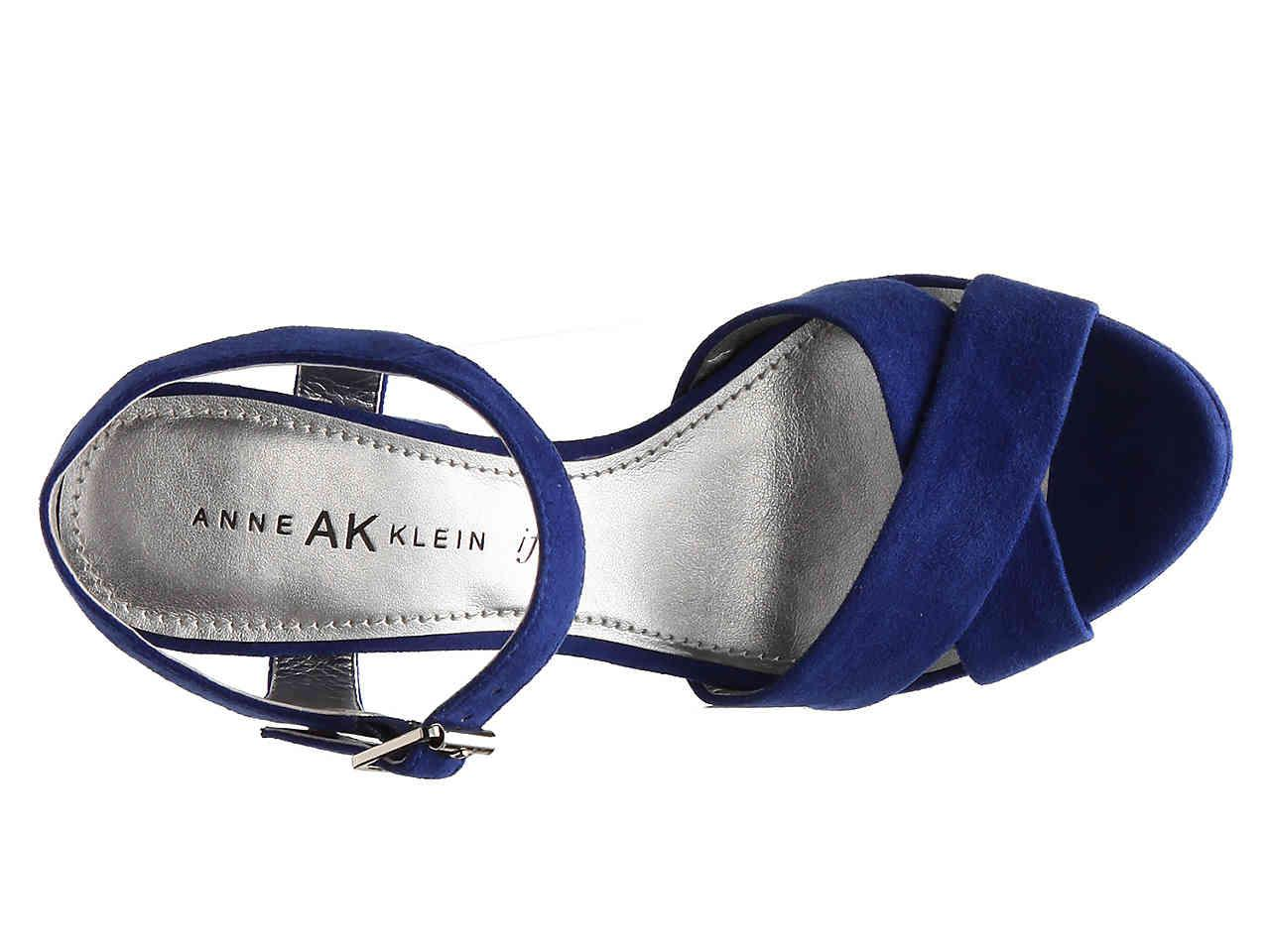 c9f8f518379 Lyst - Anne Klein Lalima Platform Sandal in Blue
