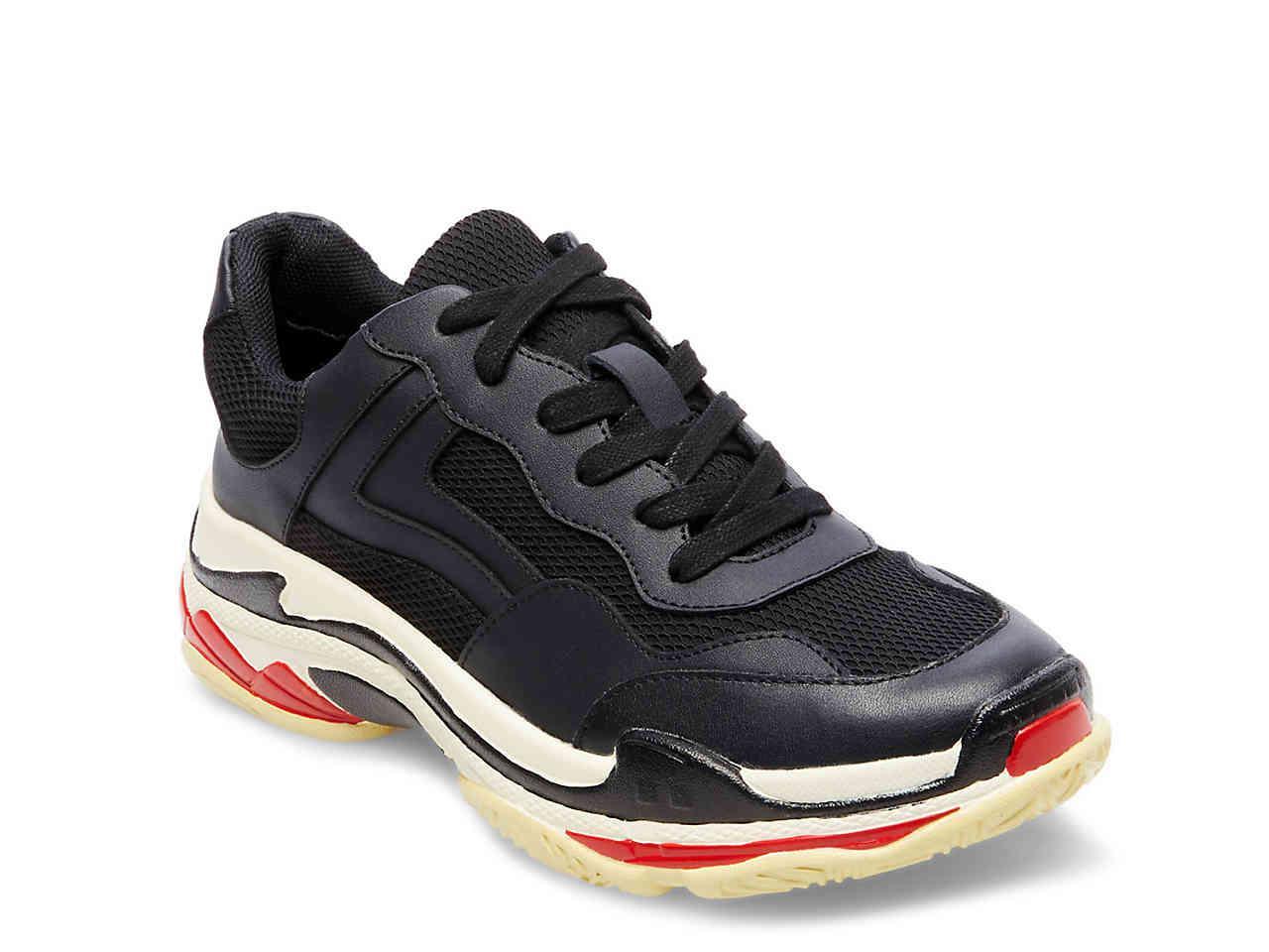 6cb4460fb93 Lyst - Steve Madden Nassau Sneaker in Black