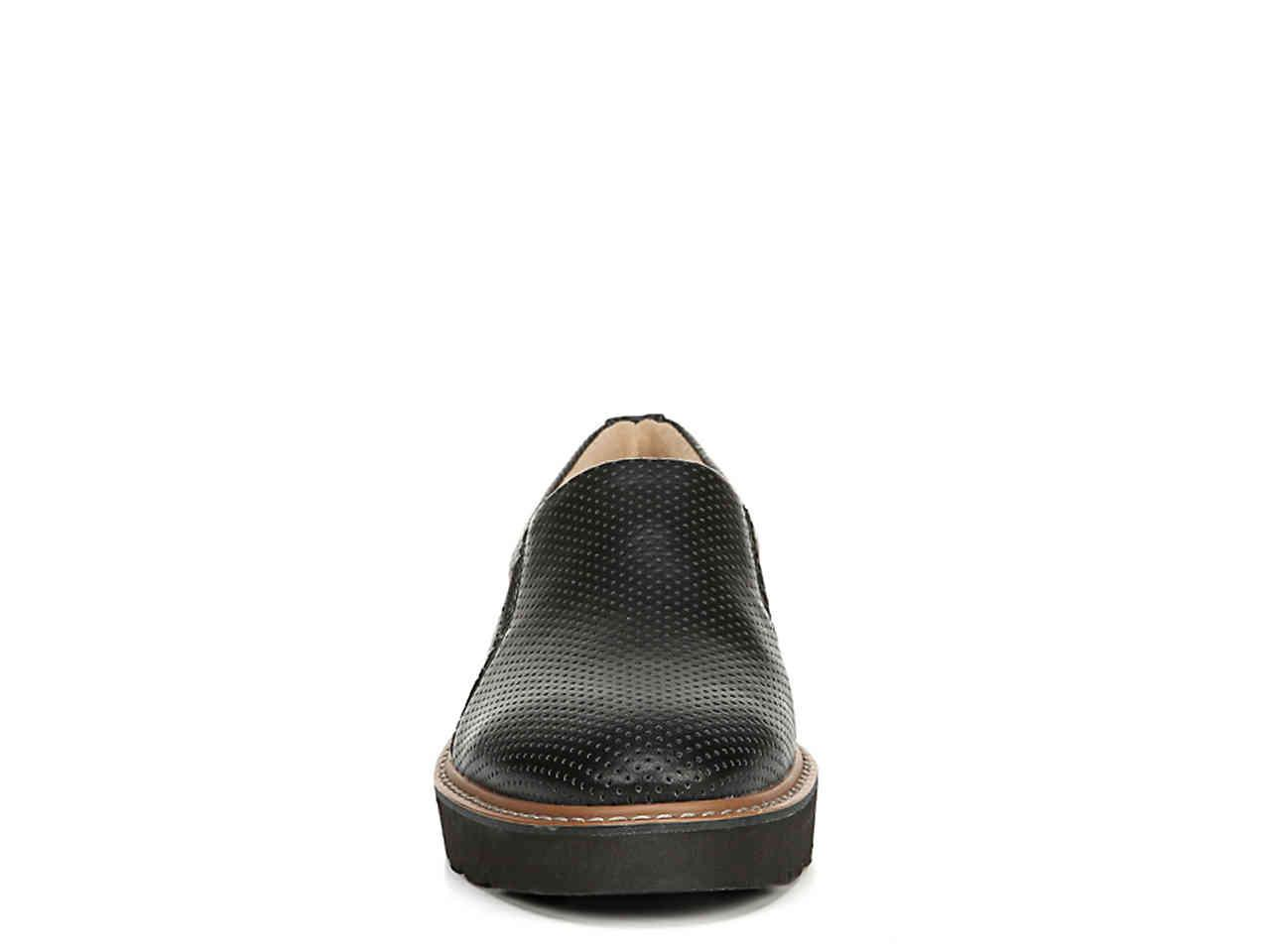 004ec98693f Naturalizer - Black Effie Wedge Loafer - Lyst. View fullscreen